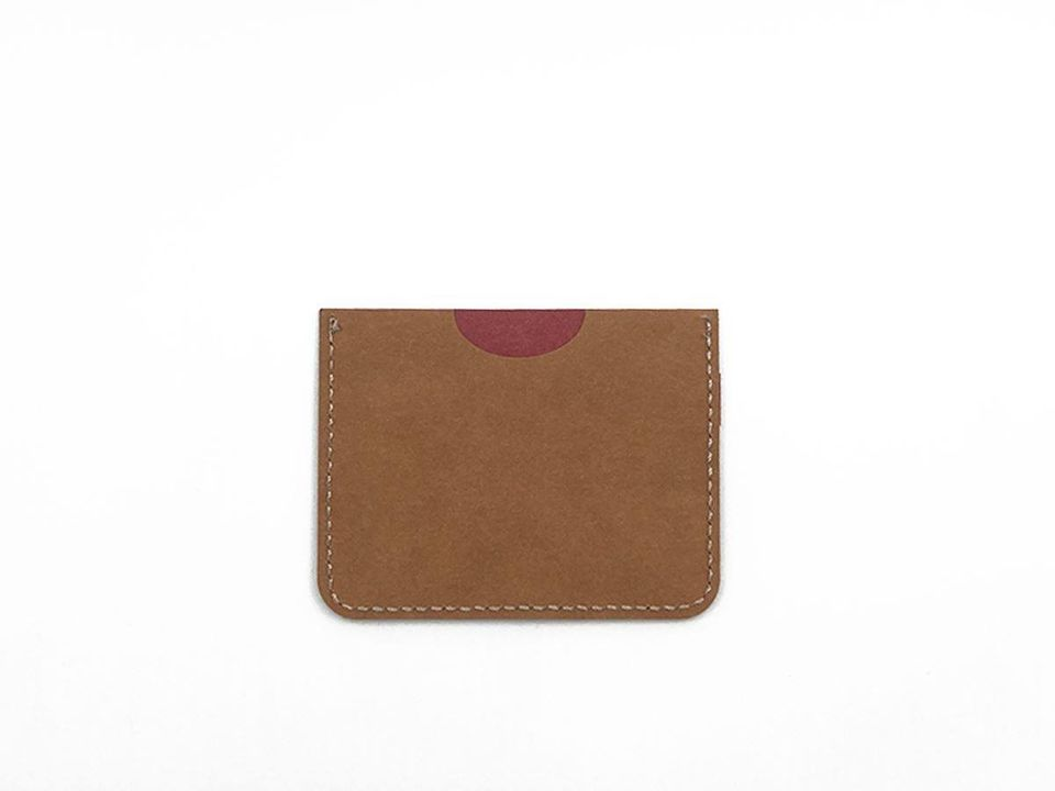 Cardholder | Red & Brown