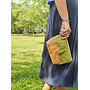 Travel / Beauty Pouch | Green & Brown